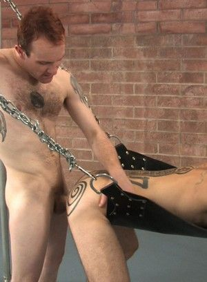 Damien Horne gets fucked hard and raw by Kalaban