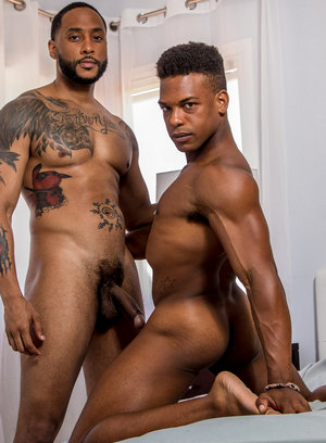 Jaxx Maxim and Adrian Hart shows off their bodies