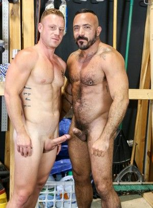 Alessio Romero and Saxon West fuck each other