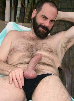 big dick hairy pornstar solo steve sommers