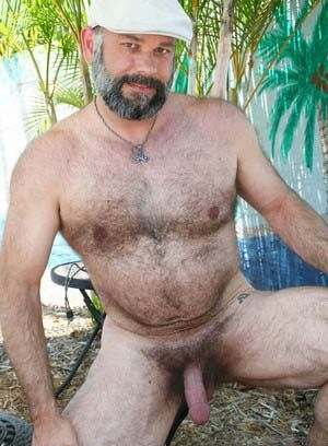 bear daddies hairy mature pornstar sean travis solo