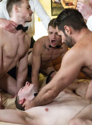 Dani Robles, Myles Landon, Dolf Dietrich, Legrand Wolf, Tom Bentley, Blake Ellis, Austin L Young and Cole Blue suck and fuck