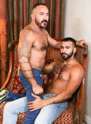 alessio romero anal sex beefy blowjob daddies hairy latin men pornstar rikk york