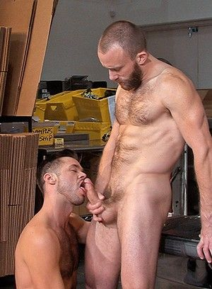 Nick Prescott gets fucked hard and raw by Mike DeMarko