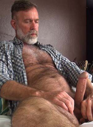 big dick daddies hairy jack sullivan mature pornstar solo