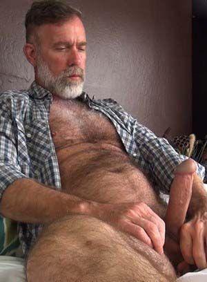 Jack Sullivan strokes his hard cock