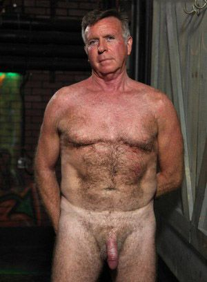 Ted Hutchins strips down