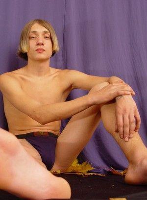 Baltus plays with his cock
