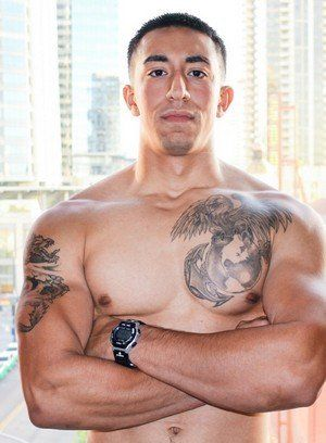 brunette jerking off military muscle men solo tattoo
