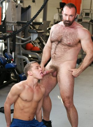 anal sex bear blowjob brad kalvo climax ian levine older on younger pornstar rimming