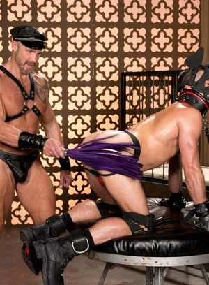 bdsm boots dallas steele masks mike demarco toys