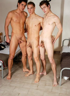 Two gay couples fuck