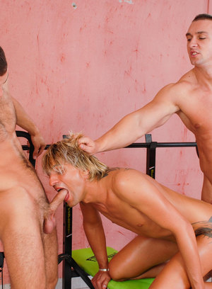 Hot and horny boys stimulate each other's cocks