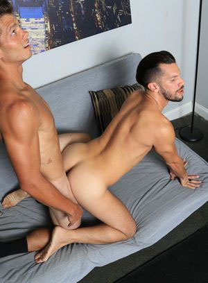 Carter Michaels and Marco jerks off together, suck and fuck