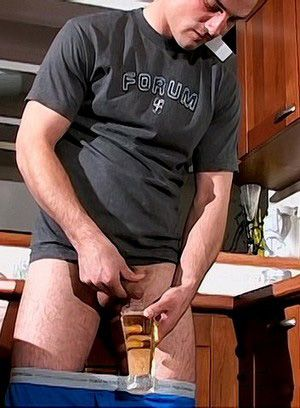 Marek Pissing and Stroking