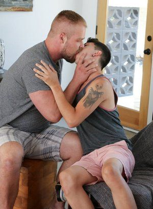 anal sex bear blowjob bryan knight older on younger pornstar rimming sam arthur twink