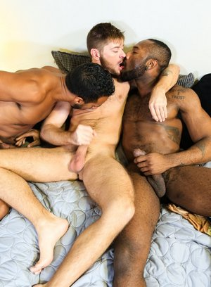 Jay Alexander, Noah Donovan and Jack Andy fuck each other