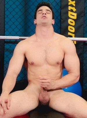 athletes masturbation muscle men solo