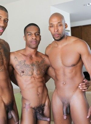 big dick black men deep throat king b pornstar ramsees rimming tattoo threesome