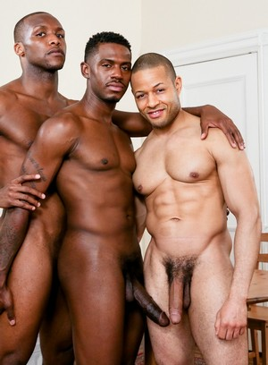 Krave Moore, Andre Donovan and Rex Cobra fuck each other
