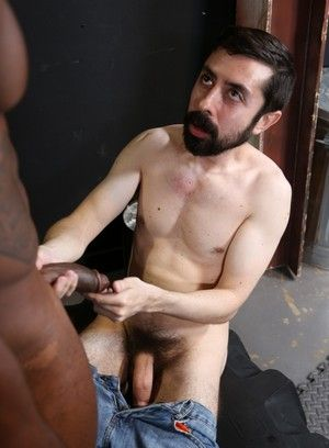 Osiris Blade, Geoff Gregorio, Anal Sex, Big Dick, Black, Condom, Interracial, Mature