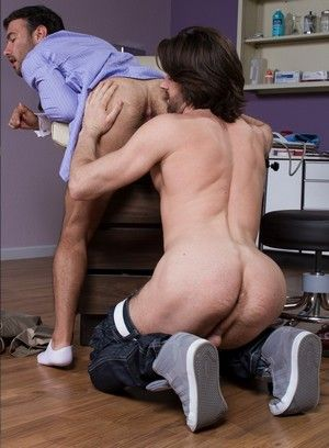 Dorian Ferro gets fucked hard by Woody Fox
