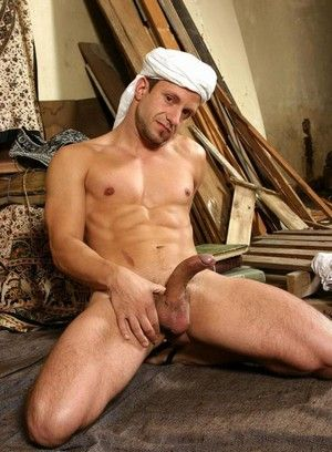 Imad Aldin playing with his cock