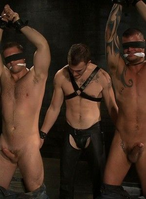 Christian Wilde fucks Van Darkholme, Paul Wagner and Derrick Hanson
