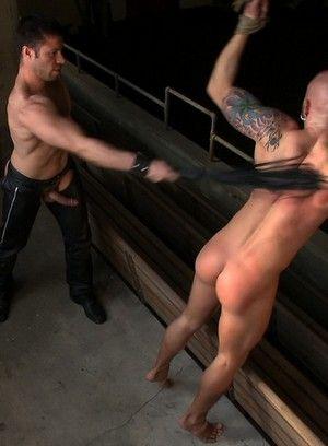 Tristan Jaxx spanks Drake Jaden