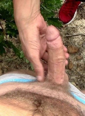 Chad Anders, Sky Wine, Oral Sex, Outdoors, Masturbation, Bald