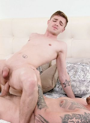 anal sex bareback big dick hardcore mark long pornstar tattoo tom bentley