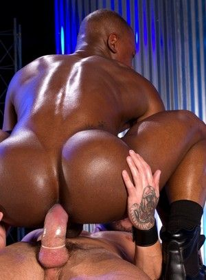 Tyson Tyler, Sean Duran, african american, Anal, Bodybuilder, Interracial, rimming, Tattoos