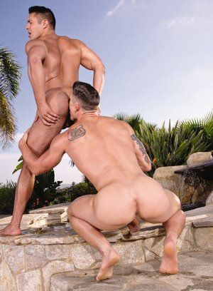 Ryan Rose and Seth Santoro suck each other off