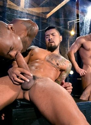 Shawn Wolfe, Boomer Banks, Trelino, Tyson Tyler, Dato Foland, african american, Group sex, orgies, interacial, latinos, oral sex, tattoos