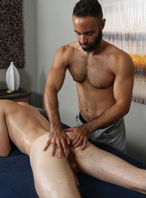Lorenzo gets worship his cock by Warren