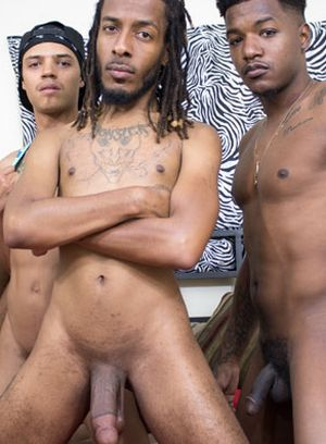 Avery Alexander, Lucky Lox and Manny Baby suck and fuck