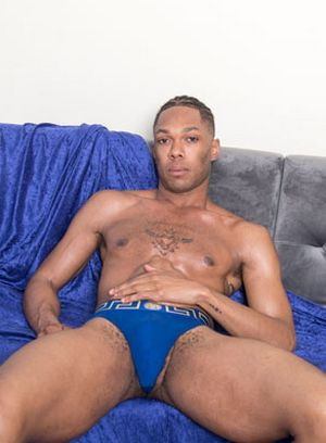 Angel Wolfe shows off his hard dick