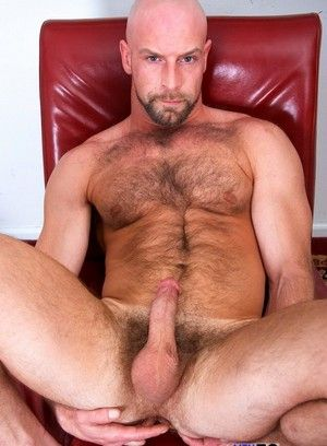 bald bear big dick dirk willis hairy masturbation pornstar solo