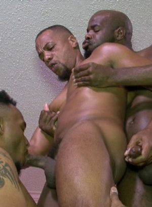 Marc Dupree, Capri Quarius and Shaft Jackson suck and fuck each other