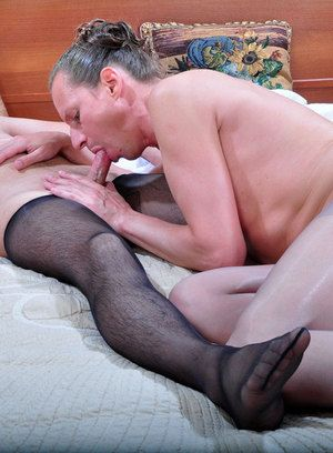 Horatio and Jack kinky gay pantyhose sex