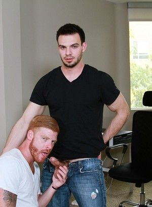 anal sex bennett anthony big dick blowjob jason maddox muscle men pornstar red head rimming tattoo