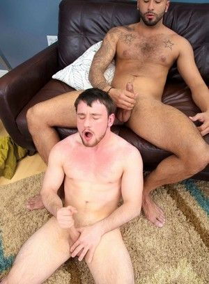 Rikk York, Scott Harbor, Anal Sex, Interracial, Latino, Mature