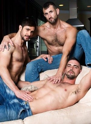 Dean Monroe, Joe Parker and CJ Parker suck and fuck each other