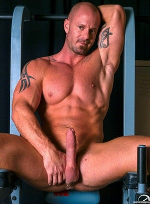 Mitch Vaughn, Athletic, Masturbation, Solo, Tattoo, Piercing