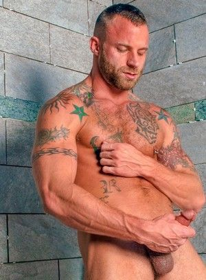 Derek Parker, Ass Play, Masturbation, Solo, Tattoo, Piercing
