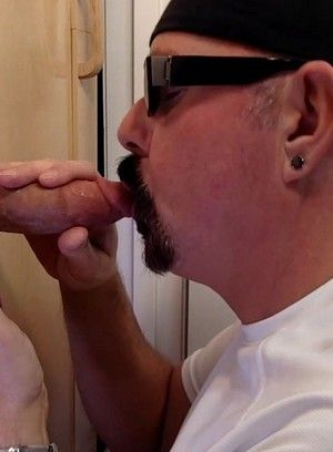 Horny Gay Licking Cum