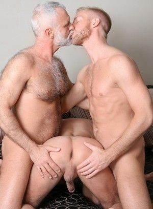 Allen Silver, Will Swagger, Christopher Daniels, Hairy, Mature, Threesome