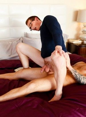 Damien Michaels and Jackson Cooper fuck each other