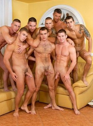 Riveting Gay Group Sex Scene