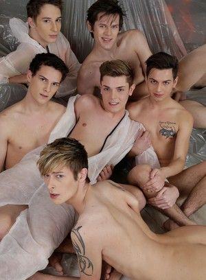 Kinky Gangbanged Gays